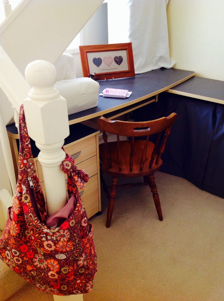 Wanting won't get you there, study, nook, writing corner, inspiration