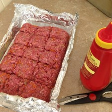 Bulk meat loaf, easy cooking, bulk cooking, frugal cooking,