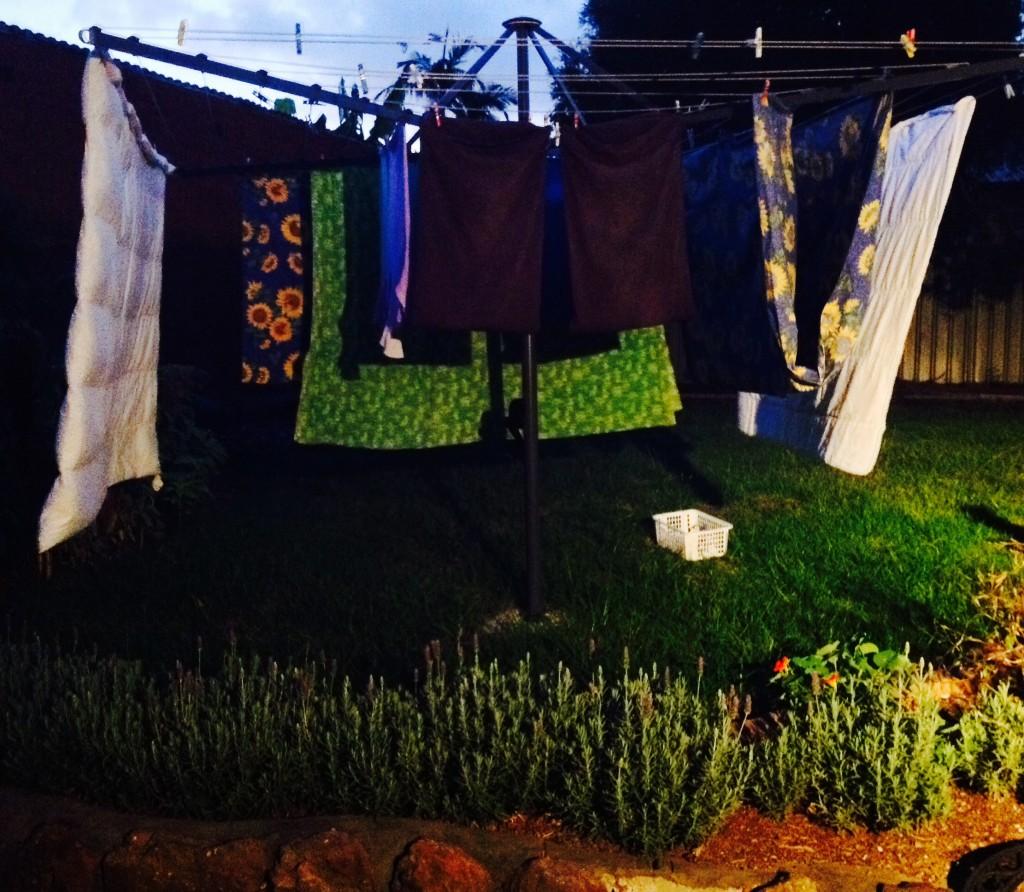Clean washing