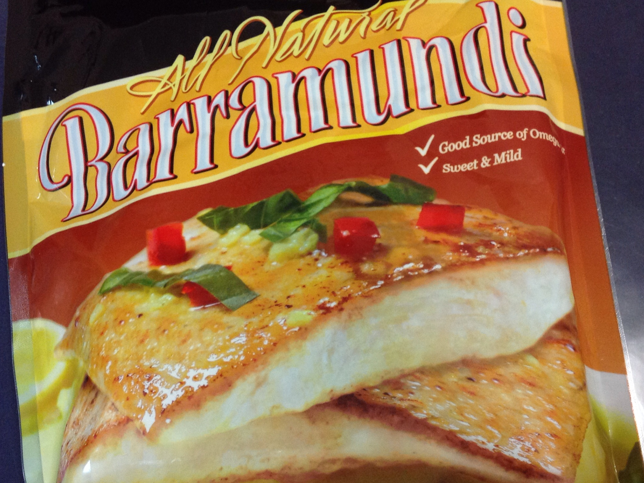 Fearless in youth, mature age style fishing, Barramundi , fish gourmet meal at home