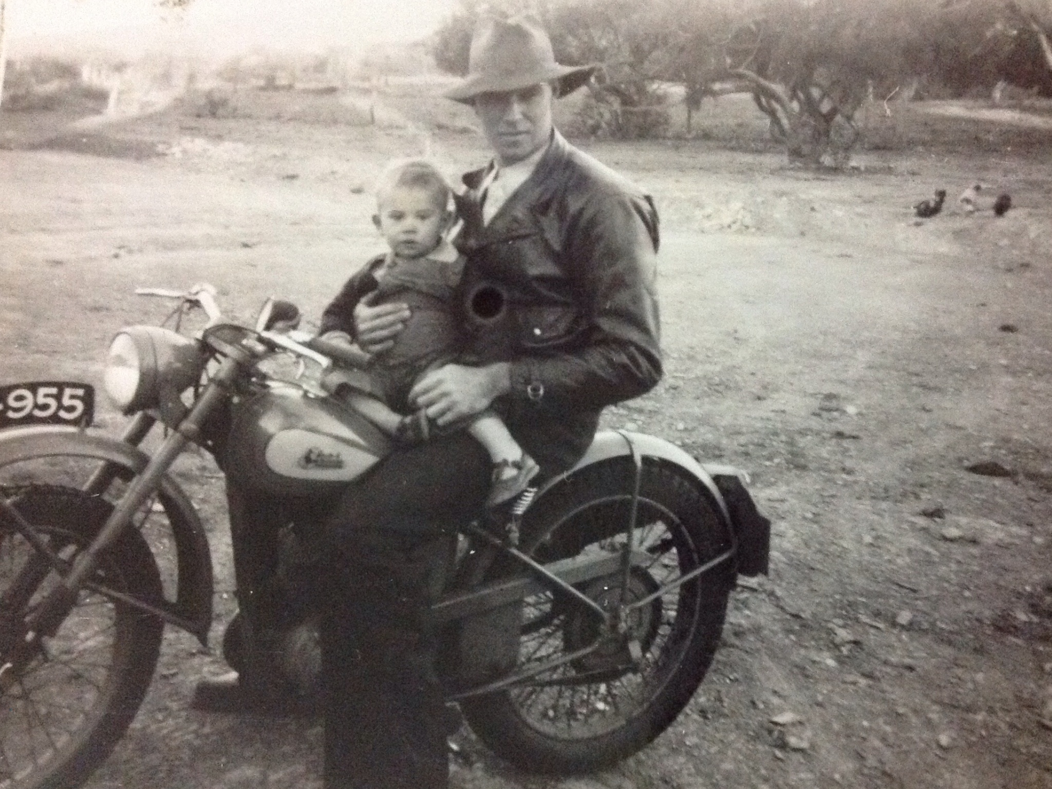 Courtesy of B Thomas our brother in law. Circa 1955